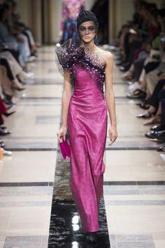 Armani Prive Fall 2017 Couture: Joan Smalls