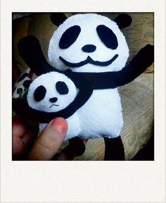 panda felties