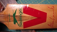Cricket Bat. Made in India.