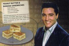 Elvis Peanut & Banana Sandwiches