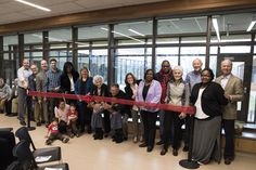 Grand Rapids Community College held a ribbon-cutting for the new Phyllis Fratzke Early Childhood Learning Laboratory in January 2017.