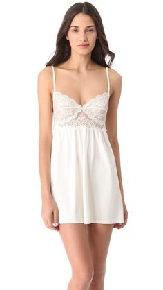 Only Hearts So Fine Baby Doll Chemise ($92.00) a la Shopbop