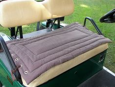 Golf Cart Seat Cover by Sittinprettycovers on Etsy
