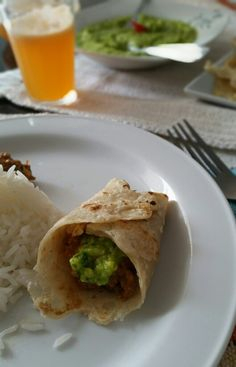 Almoço. México inspiração.