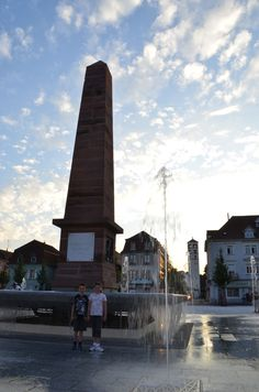 After the long drive through Holland, Belgium and Luxembourg, a night's stop-over in Huningue - on the border of France, Germany and Switzerland.