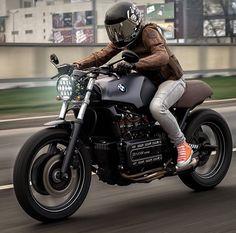 Rider Girl on BMW K