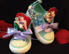 Little Mermaid Birthday Converse