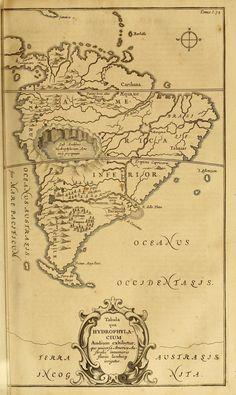 Mundus subterraneus, Athanasius Kircher (1601-1680). Foi um jesuíta, matemático, físico, alquimista e inventor alemão