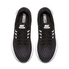 38b4c2f701a5 Nike Zoom Winflo 4 Women's Running Shoe - Black #largesizewomensshoes  ナイキズーム, バンズ,