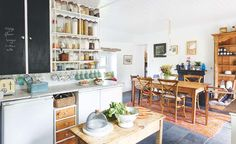 Sara Wallace's resourceful remodel of a tumbledown lochside cottage has created a cosy home full of traditional appeal