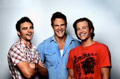 Dustin Clare, Aaron Jeffery, Luke Jacobz.