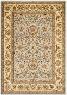 Safavieh's Lyndhurst collection offers the beauty and painstaking detail of traditional Persian and European styles with the ease of polypropylene. With a symphony of florals, vines and latticework detailing, these beautiful rugs bring warmth and...