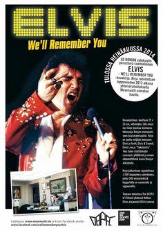 Toinen Elvis - We'll Remember You -kuvakirjaprojektin Mesenaatti-viikko käynnistyy. Lähdetään yhdessä mesenoimaan yhtä hyvällä sykkeellä kuin viime viikollakin ja olemme jälleen askelta lähempänä kirjan toteutumista! Jokainen panos yhteiseksi hyväksi on tärkeä. #EWRY http://mesenaatti.me/elvis-well-remember-you/