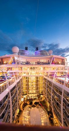 Symphony of the Seas, a perception remixing, memory maxing mic drop. Our newest, biggest cruise ship with all the greatest hits, plus revolutionary new firsts. Start your next vacation adventure here. Royal Caribbean International, Royal Caribbean Cruise, Biggest Cruise Ship, Symphony Of The Seas, Luxury Yachts, Family Adventure, Arcade, Dolores Park, Spain