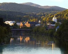 Montpelier is the capital of our beloved state.  As a city is boasts great dining and shopping, all with a unique Vermont flair.