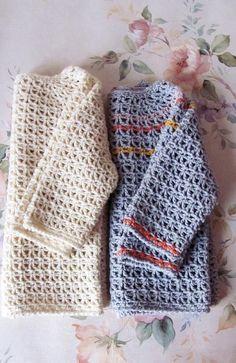 Soft cotton cardi Crochet pattern by Katya Novikova | Baby Crochet Patterns | LoveCrochet