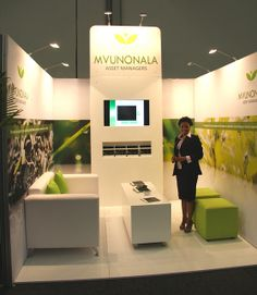 Mvunonala exhibition stand | IRF 2012, via Flickr. Not going to get many people on this stand but looks pristine.