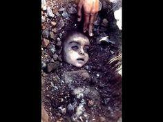 zwłoki dziecka zmarłego w wyniku eksplozji trującego gazu
