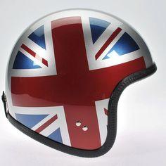 Davida Ninety Two Helmet - Silver/UJ Sides