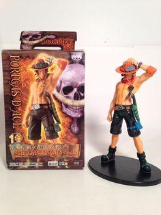 One Piece The Grandlinemen Vol 2 Portgas D Ace Figure Anime Display Figure  | eBay