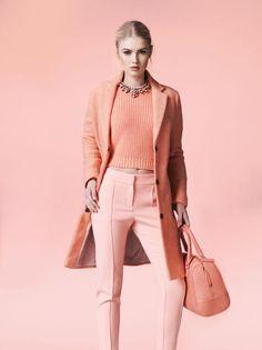 Monochromatic Fashion: Dramatic Spring Style - Avenue Calgary - March 2014