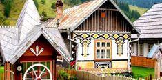 Originálna rumunská dedinka očarí návštevníkov ľudovými vzormi na domoch, oblečení i krasliciach Lonely Planet, Big Design, House Design, The Places Youll Go, Places To Go, Transylvania Romania, Traditional Paintings, Exterior Design, Architecture Design