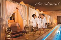 Enjoy relaxing, bonding Beverly Hills Day Spa experience with your girlfriends at The Spa on Rodeo.