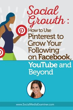 Are you active on Pinterest?  Have you thought about using Pinterest to grow your other social networks?  To discover how to drive traffic from Pinterest to other networks, Michael Stelzner interviews @nataliejillfit