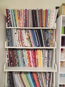 FACS Classroom Ideas: Fabric Storage