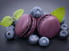 Macarons au cassis : Recette de Macarons au cassis - Marmiton