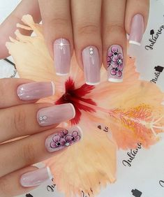 Best Nail Art Designs 2018 Every Girls Will Love These trendy Nails ideas would gain you amazing compliments. Check out our gallery for more ideas these are trendy this year. Best Nail Art Designs, Beautiful Nail Designs, Love Nails, Fun Nails, Nail Candy, Luxury Nails, Elegant Nails, French Tip Nails, Cool Nail Art