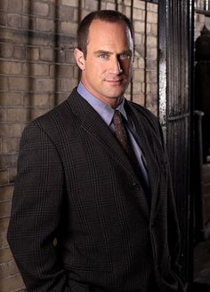 Christopher Meloni as Elliot Stabler on Law & Order SVU