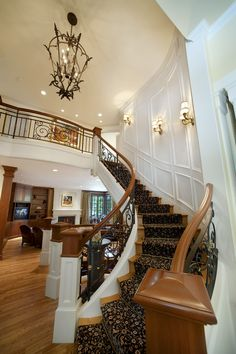 Entry Stairway - VDB Estates - For more info on this home or to view our other offerings please visit www.vdbestates.com