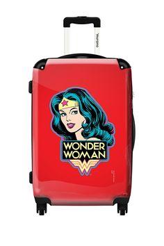 Wonder+Woman+Hard+Case+Luggage+on+@HauteLook