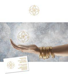 Логотип для студии массажа -  Разработка логотипа и визиток для массажного салона в Испании