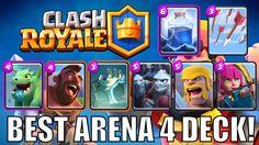 CLASH ROYALE | BEST ARENA 4 DECK! | EASY WINS!  YouTube http://ift.tt/1STR6PC