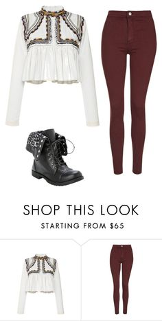 """""""Untitled #163"""" by sierrapalmer10 on Polyvore featuring Isabel Marant and Topshop"""