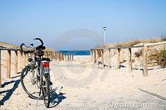 Bike by the sea. by Sebastian Czapnik, via Dreamstime