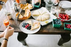 Kinfolk DInner / Image via: WoodNote Photography #entertaining