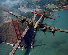 B-17 over GG!