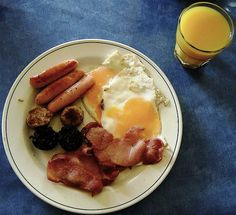Irish Breakfast:  I had this when in Ireland and it was the absolute best!