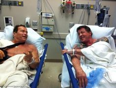 conan&rocky ended up in the same hospital