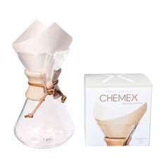 6 Cup Chemex (with filters)