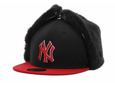 b2ceee42f30 New MLB New York Yankees New Era Dog chain 59FIFTY Fitted 7 1 2 Hat