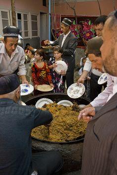 A big feast! Tajikistan
