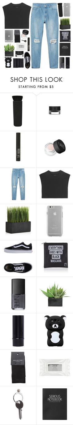"""the remnants of your cigarette packet❁"" by pheachy ❤ liked on Polyvore featuring Topshop, NARS Cosmetics, Monki, adidas Originals, Crate and Barrel, Case-Mate, Vans, Eyeko, Lux-Art Silks and SELECTED"