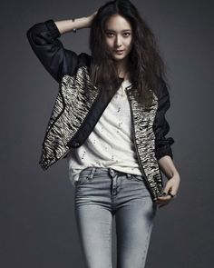 Krystal Jung f(x) - Vogue Magazine April Issue 2014