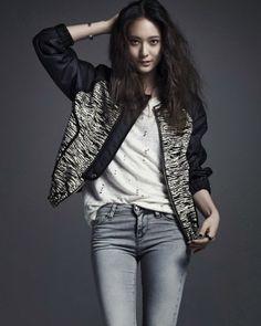 Krystal Jung f(x) - Vogue Magazine April Issue 2014