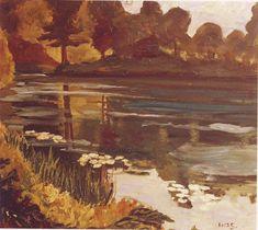 Winston Churchill ~ Lake at Blenheim