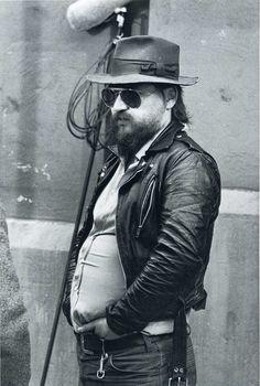 Rainer Werner Fassbinder. Berlin 1980. Photograph: Alfred Eisenstaedt.